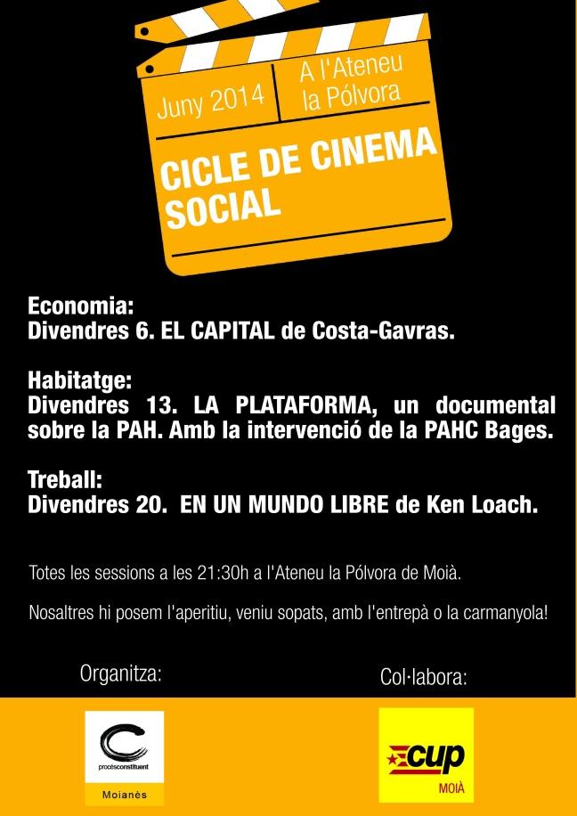 Cartell Cine Social (DEF 2)