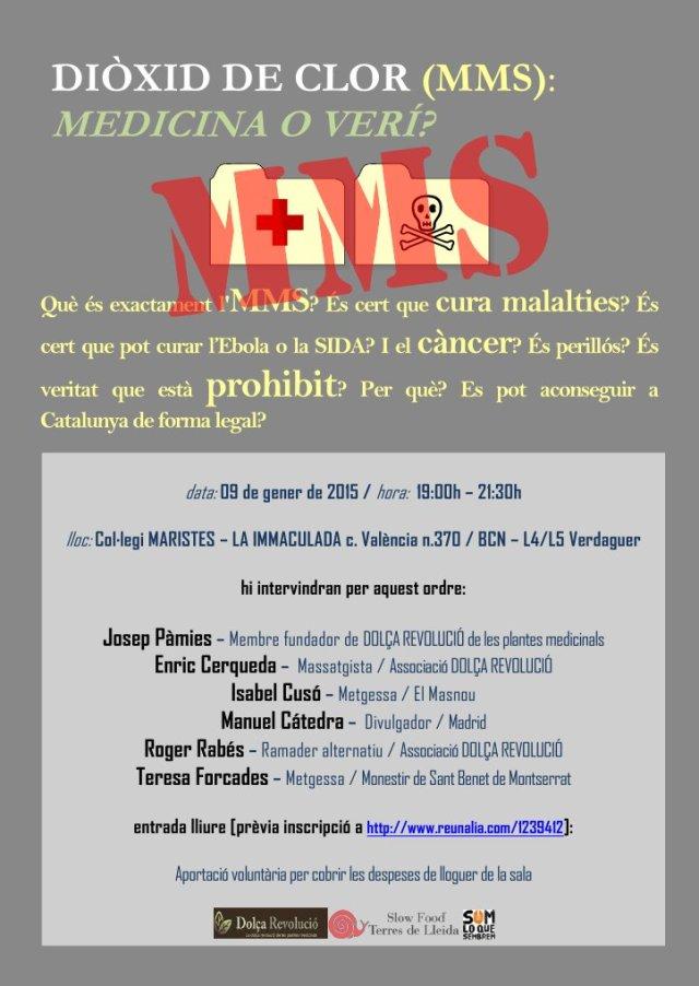 Presentació del MMS a Barcelona
